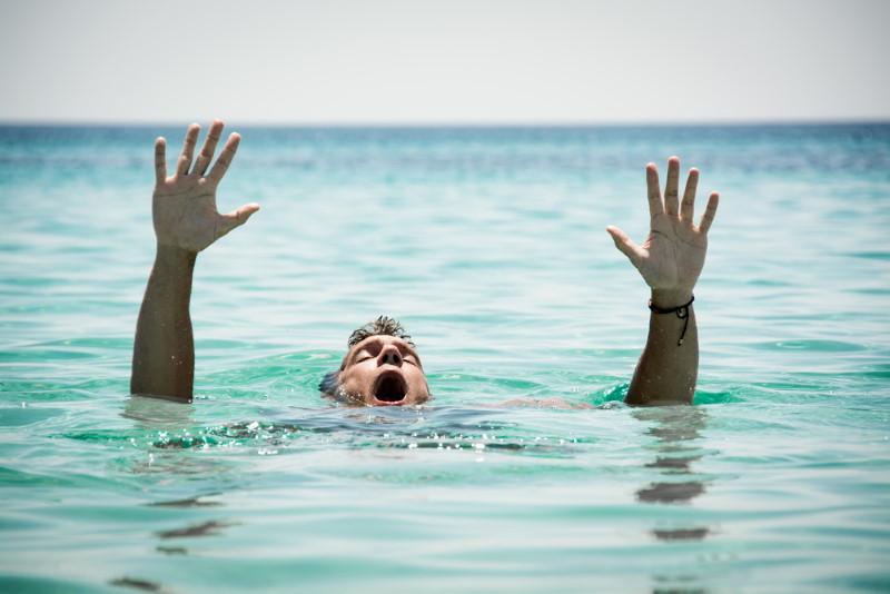verdrinken