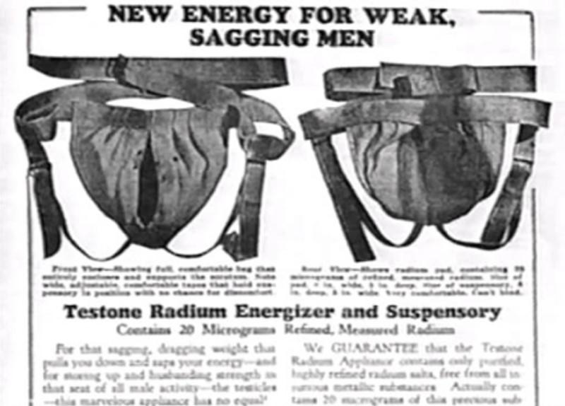 radium onderbroeken