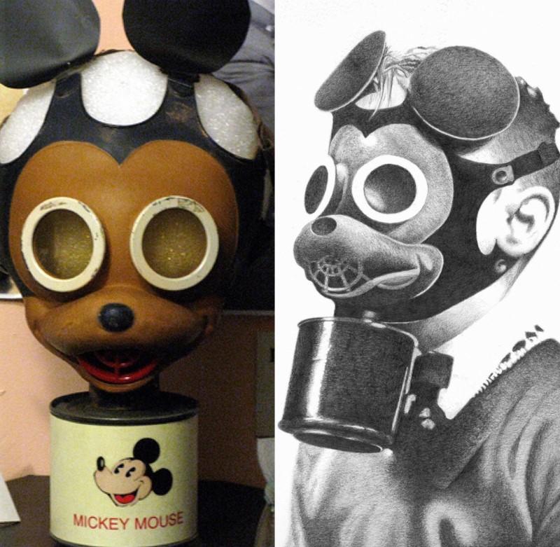 Mickey Mouse Gasmasker