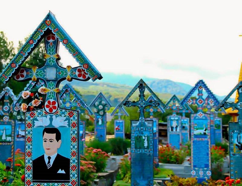vrolijke begraafplaats